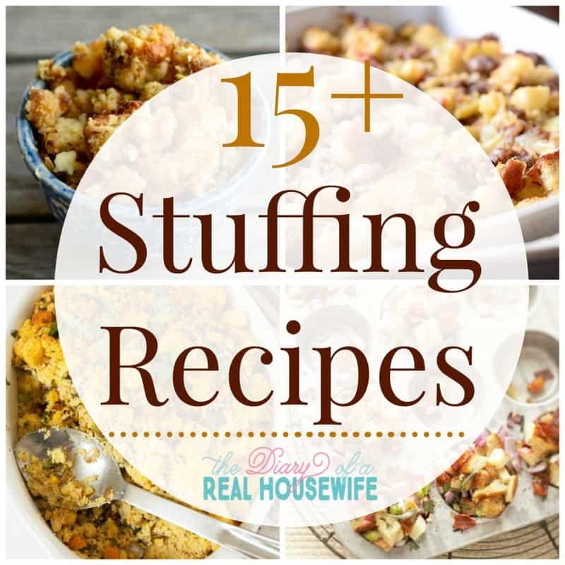 15 plus stuffing recipes recipe roundup collage