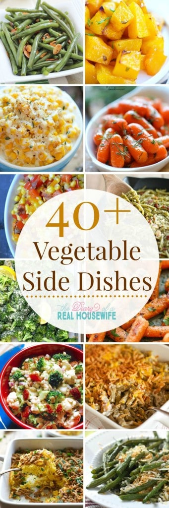 I am always looking for good side dish recipes! I love this list and so perfect for the holiday season!!