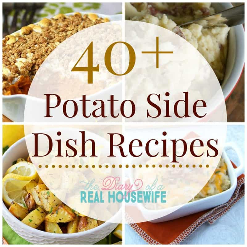 Potato side dish recipes! Some great ideas here