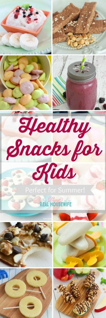 Healthy snack ideas for kids.
