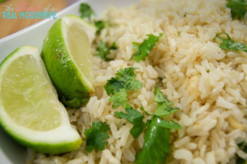 We loved this brown rice recipe! Such a great side dish for family meal time!