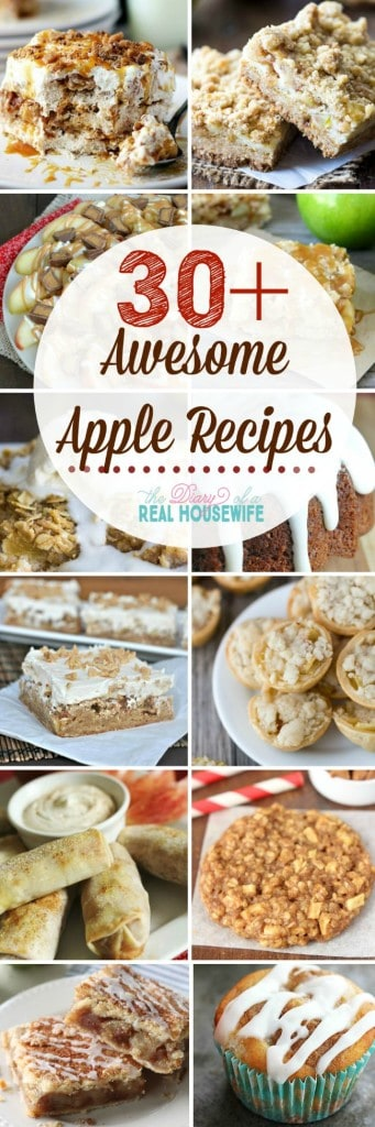 Awesome apple recipes you are going to want to try this season!