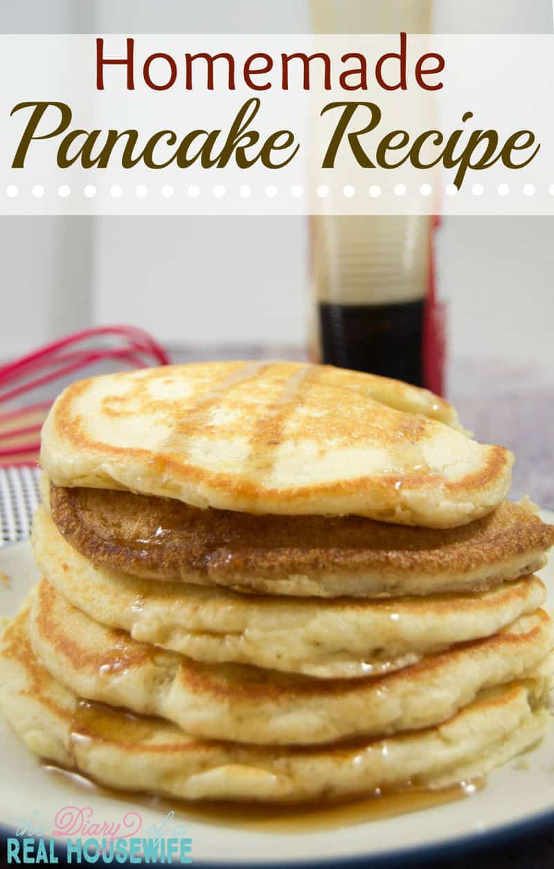 Pancake Recipe - The Diary of a Real Housewife