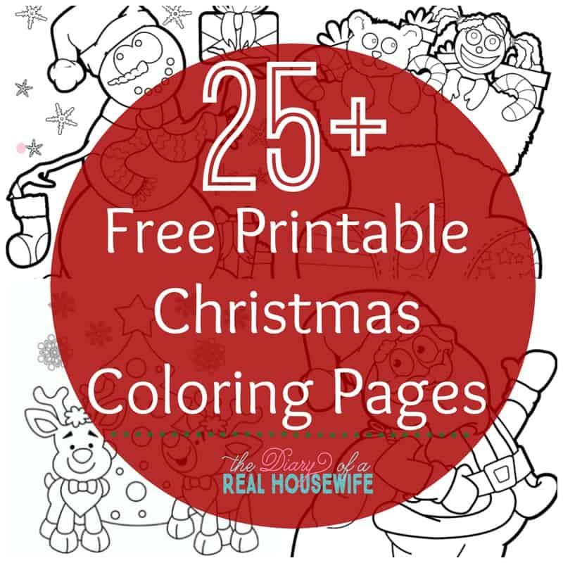 free fun christmas coloring pages view source