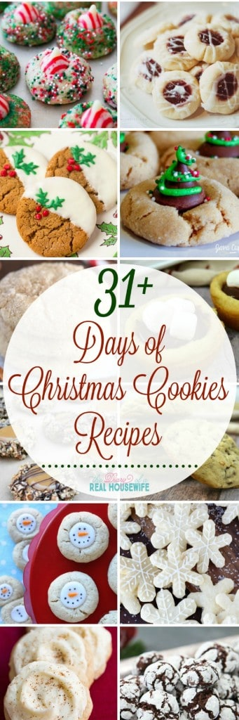31 Days Of Christmas Cookie Recipes The Diary Of A Real Housewife