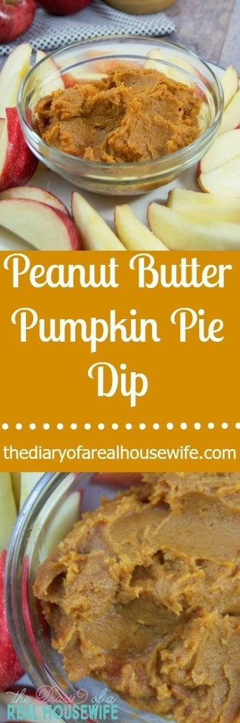 Peanut Butter Pumpkin Pie Dip