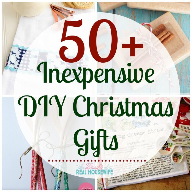 Inexpensive DIY Christmas Gifts