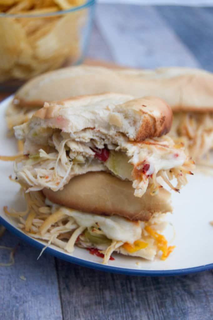 Slow Cooker Philly Chicken Cheesesteak