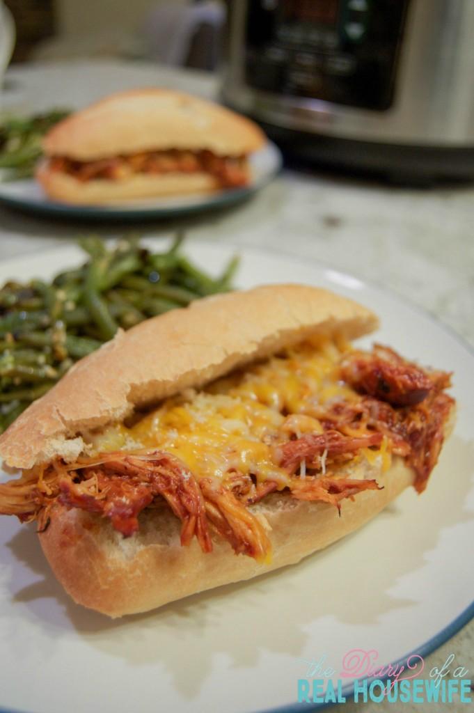 The best slow cooker bbq chicken sandwiches