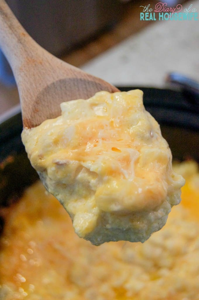 Easy Slow Cooker Cheesy Potato Casserole. I LOVED this recipe.