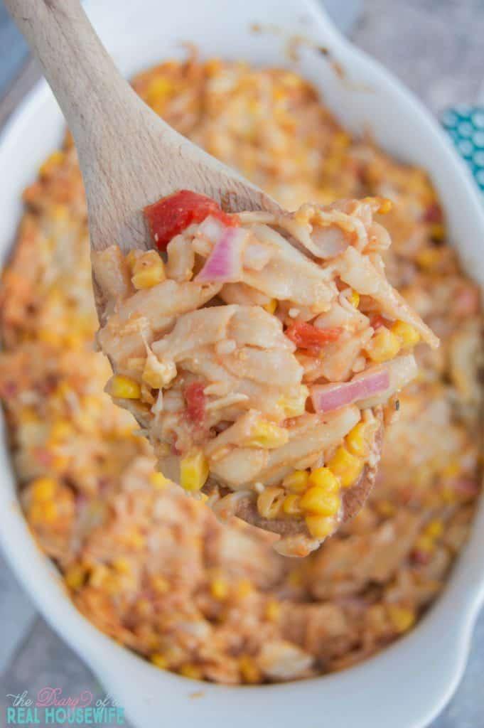 great-dinner-idea-bbq-ranch-chicken-casserole