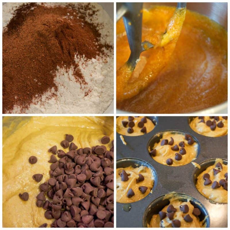 chocolate-chip-pumpkin-muffins-collage