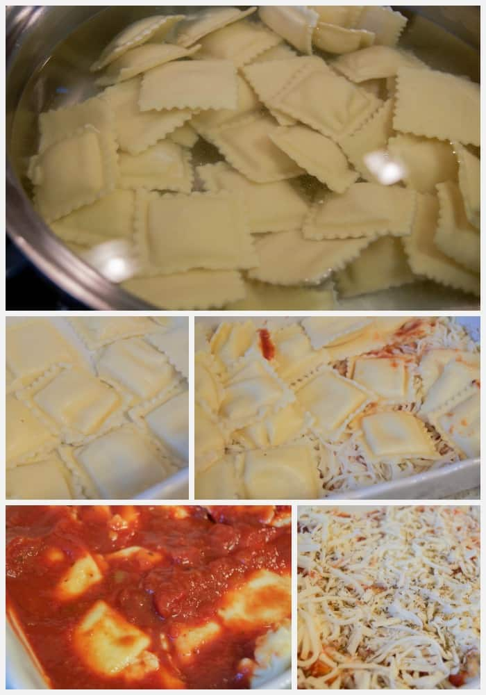 Simple Ravioli Lasagna