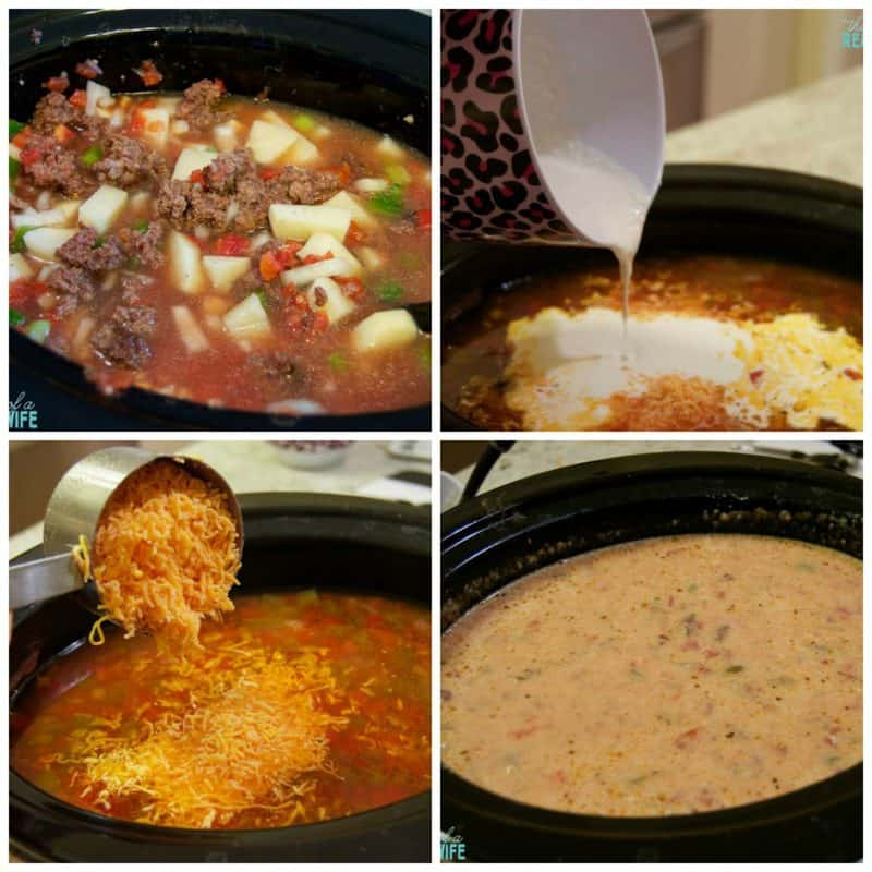 slow-cooker-cheeseburger-soup-collage